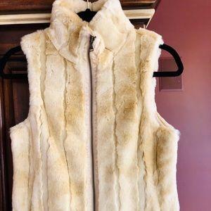 Express Faux Fur Vest